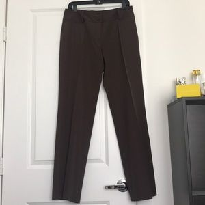 Pants - Pinstripe slacks
